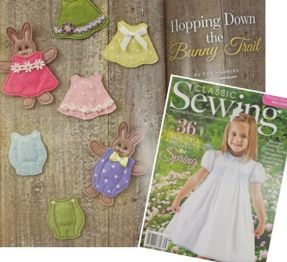 Classic Sewing Spring Issue 2017