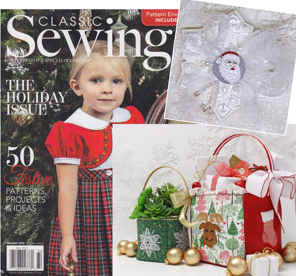 Classic Sewing Holiday Issue 2018