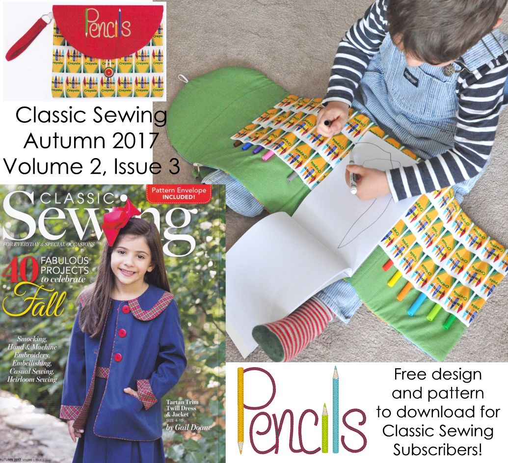 Classic Sewing Fall Issue 2017