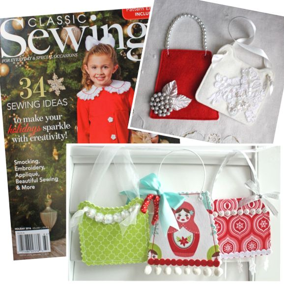 Classic Sewing Holiday Issue 2016