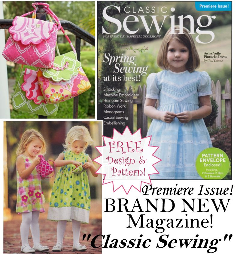 Classic Sewing 2015 Premier Issue