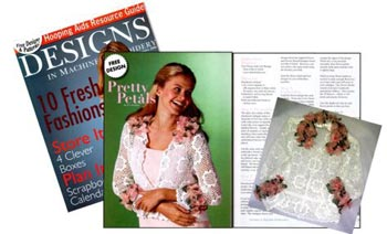 Designs in Machine Embroidery January/February 2006 Volume 36