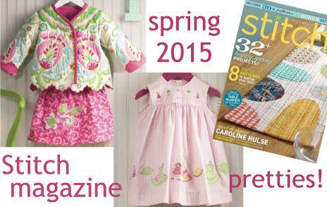 Stitch Spring Issue 2015