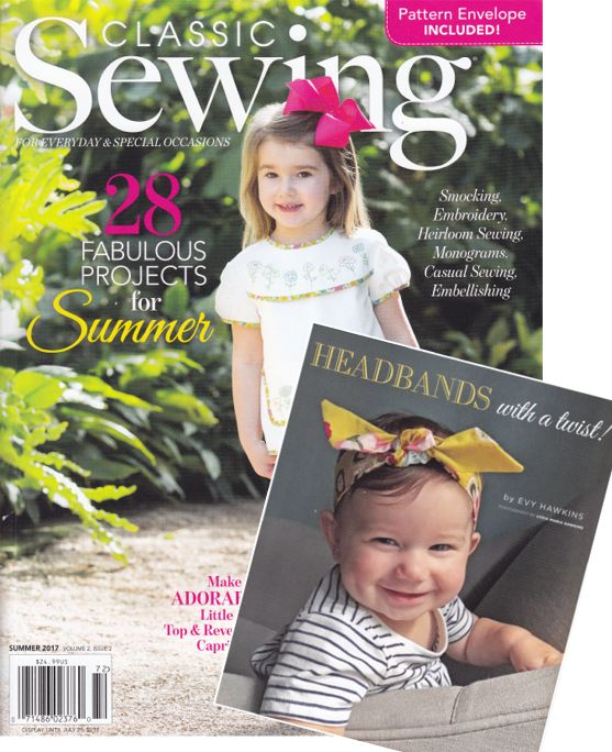 Classic Sewing Summer Issue 2017