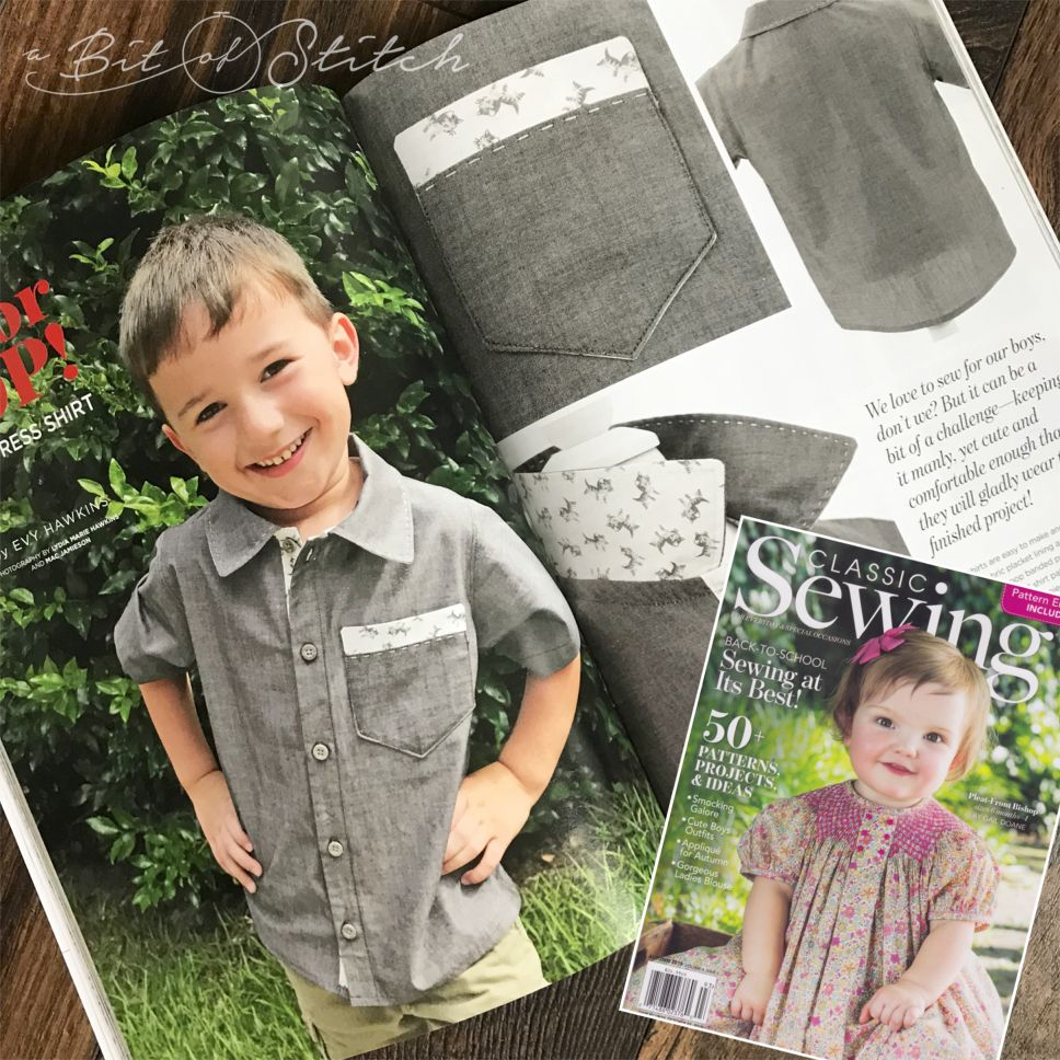 Classic Sewing Fall Issue 2019