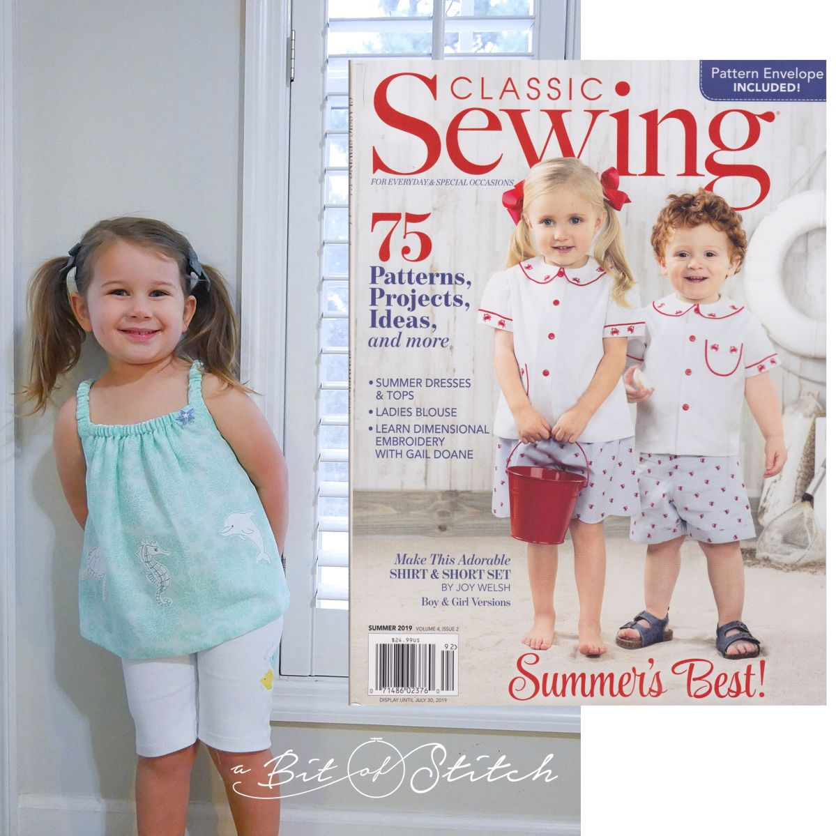 Classic Sewing Summer Issue 2019