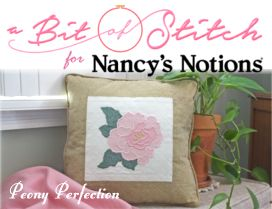 Peony Pillow Project