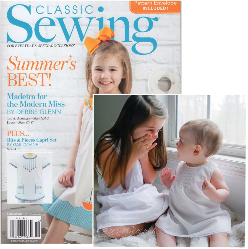 Classic Sewing Summer Issue 2021
